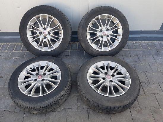 Fiat Grande Punto Felgi Aluminiowe Alufelgi 15 7589604936