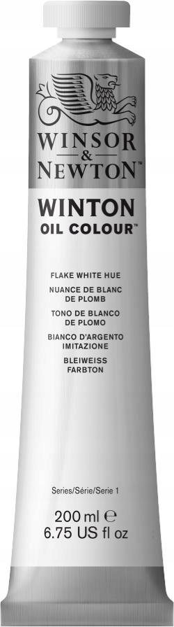 WINTON Flake White Hue 200 ml - Farba olejna