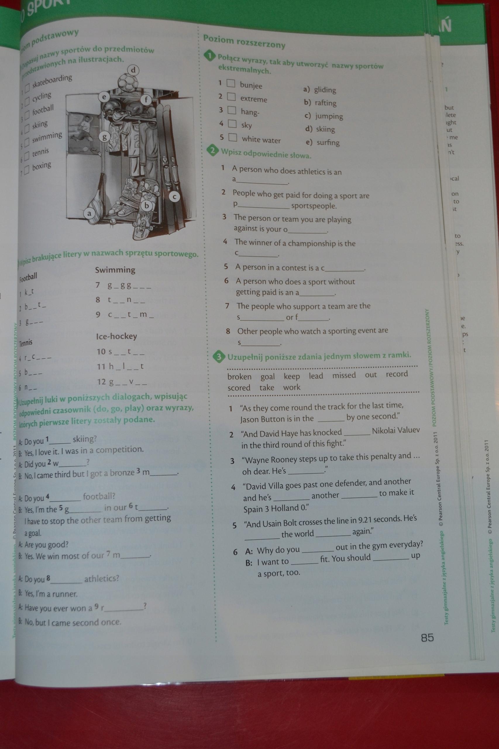 Modish Longman język angielski testy gimnazjalne - 7466477546 - oficjalne WB92