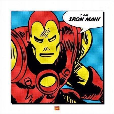Iron Man I Am - plakat premium