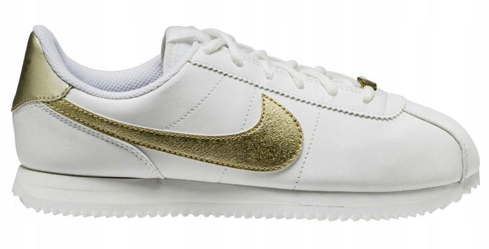 sports shoes 92a36 44253 35,5 BUTY NIKE CORTEZ BASIC 904764-105 BIAŁE