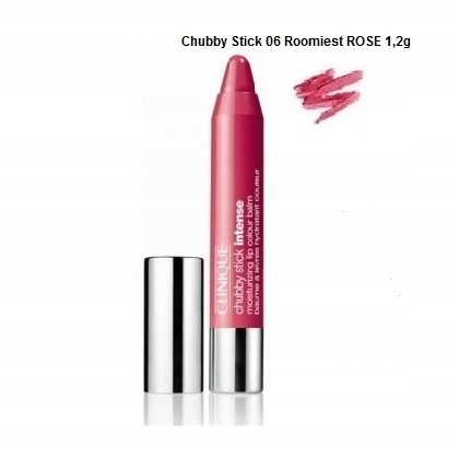 Clinique CHUBBY STICK INTENSE #06 ROOMIEST ROSE 1,