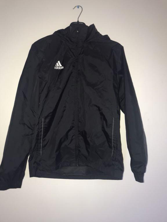 Kurtka wiatrówka S adidas czarna biała 7242180761