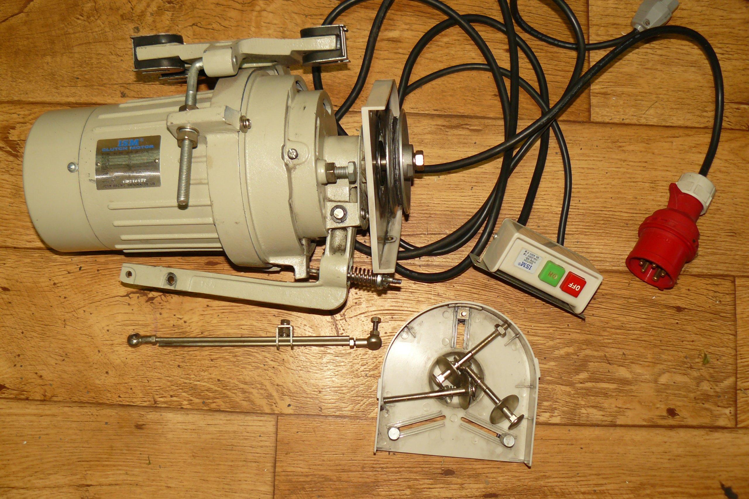 Silnik do maszyny ISM clutch motor NS432 400w