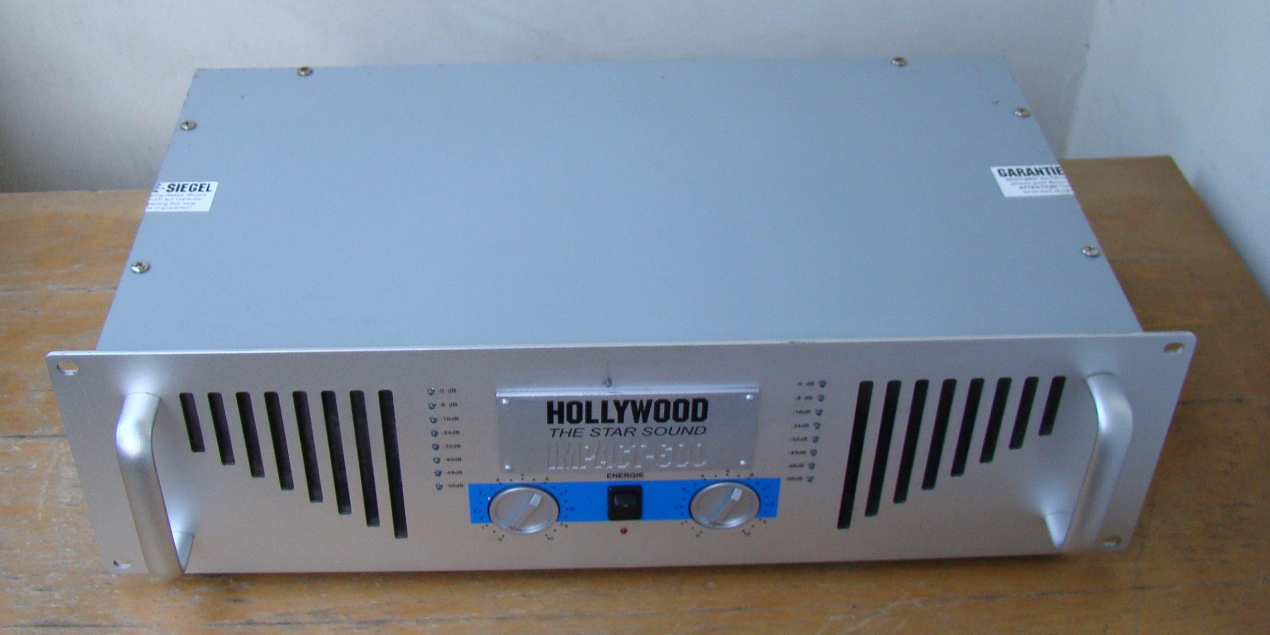 Wzmacniacz Końcówka Mocy Hollywood Impact 600 7340869710
