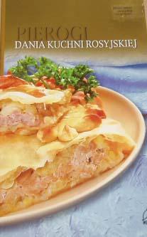 Książka Kucharska Kuchnia Rosyjska Ruskie Pierogi