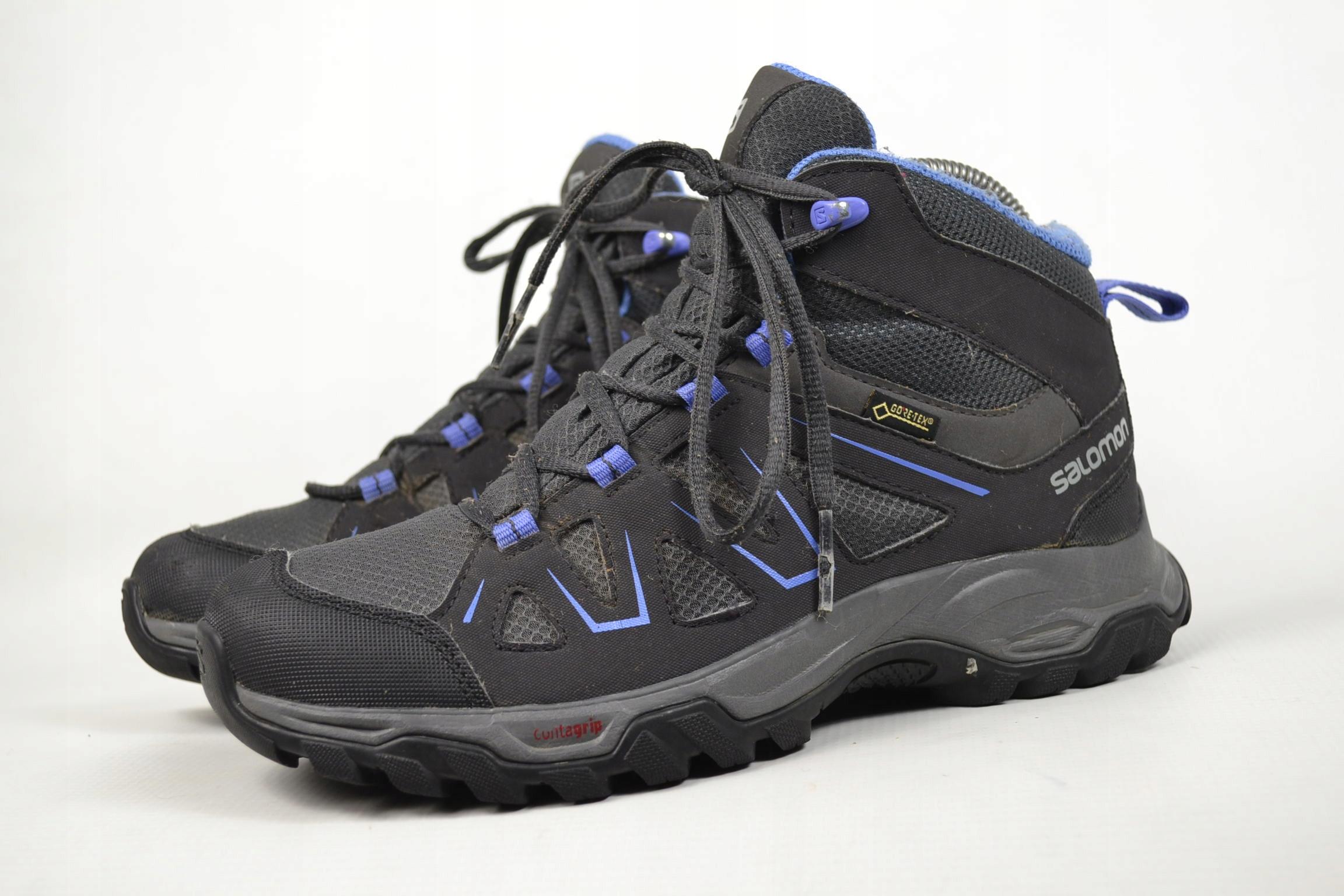 c6a63fb7 Buty trekkingowe SALOMON TIBAI MID GTX GORE-TEX 38 - 7627865099 ...