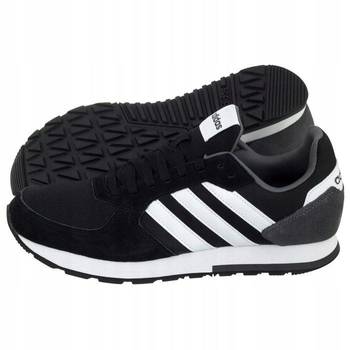 wiele modnych Darmowa dostawa amazonka 7460508101 Adidas 8k Czarne Buty B44650 Męskie Sportowe wHxqA0