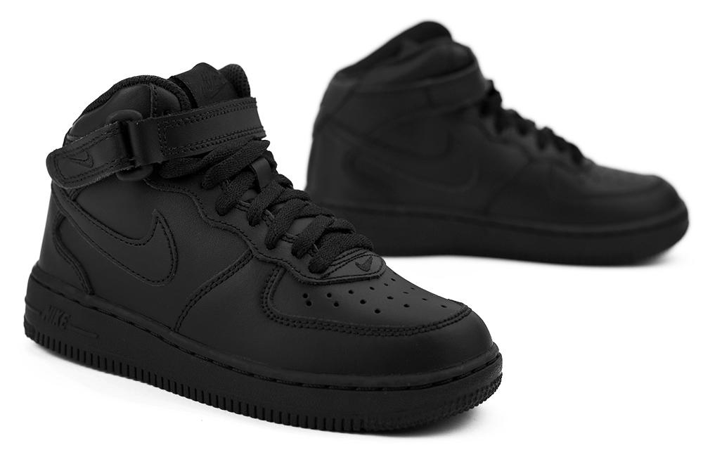 air force 1 mid czarne