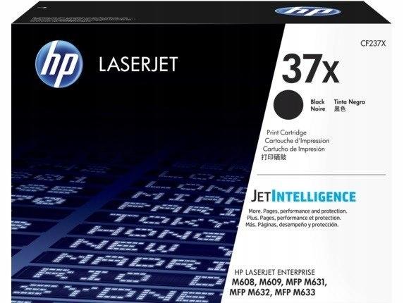 Toner HP 37X Black 25k CF237X