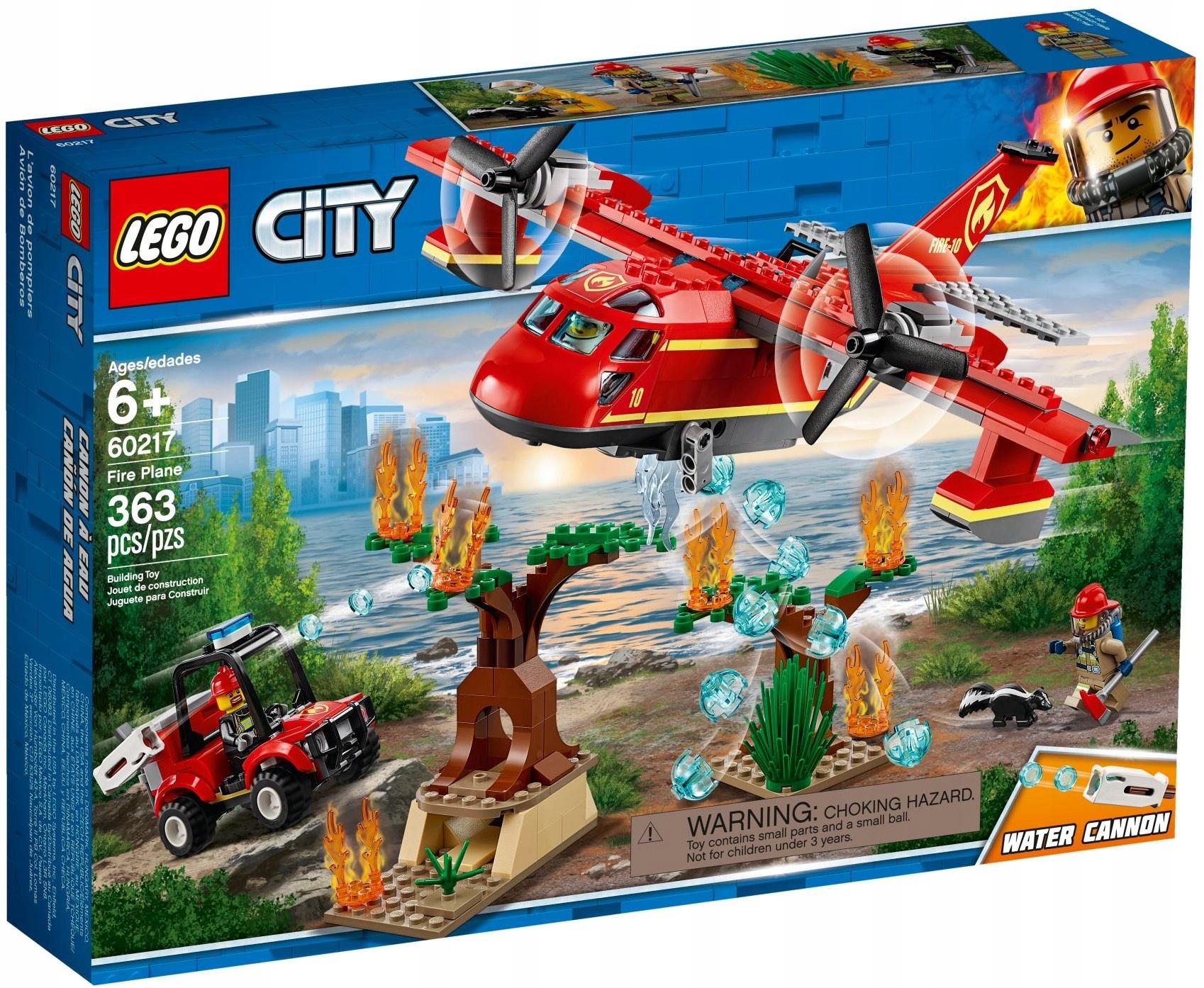 Lego City 60217 Samolot Strażacki Nowość 2019 7732749907