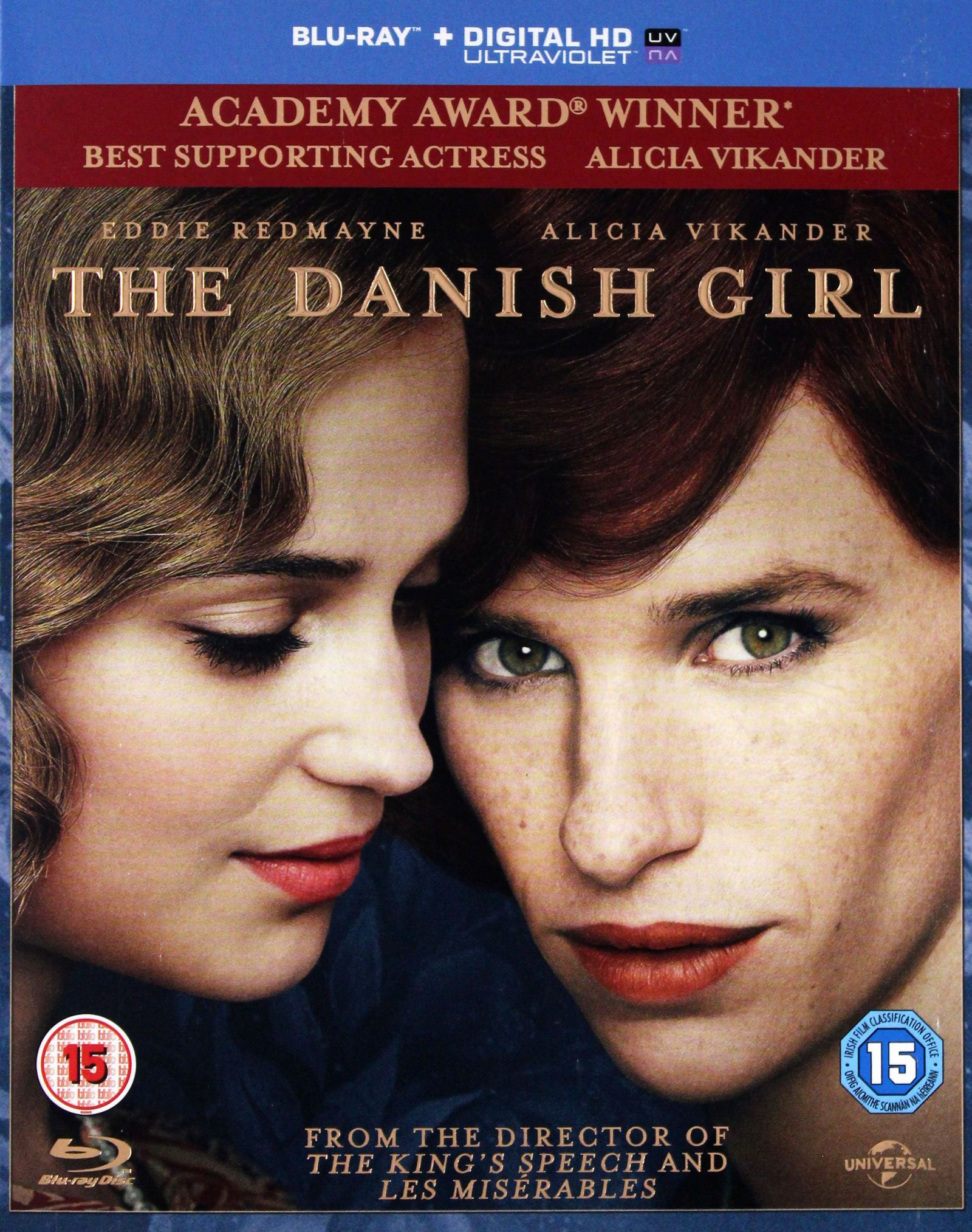 DANISH GIRL [BLU-RAY]