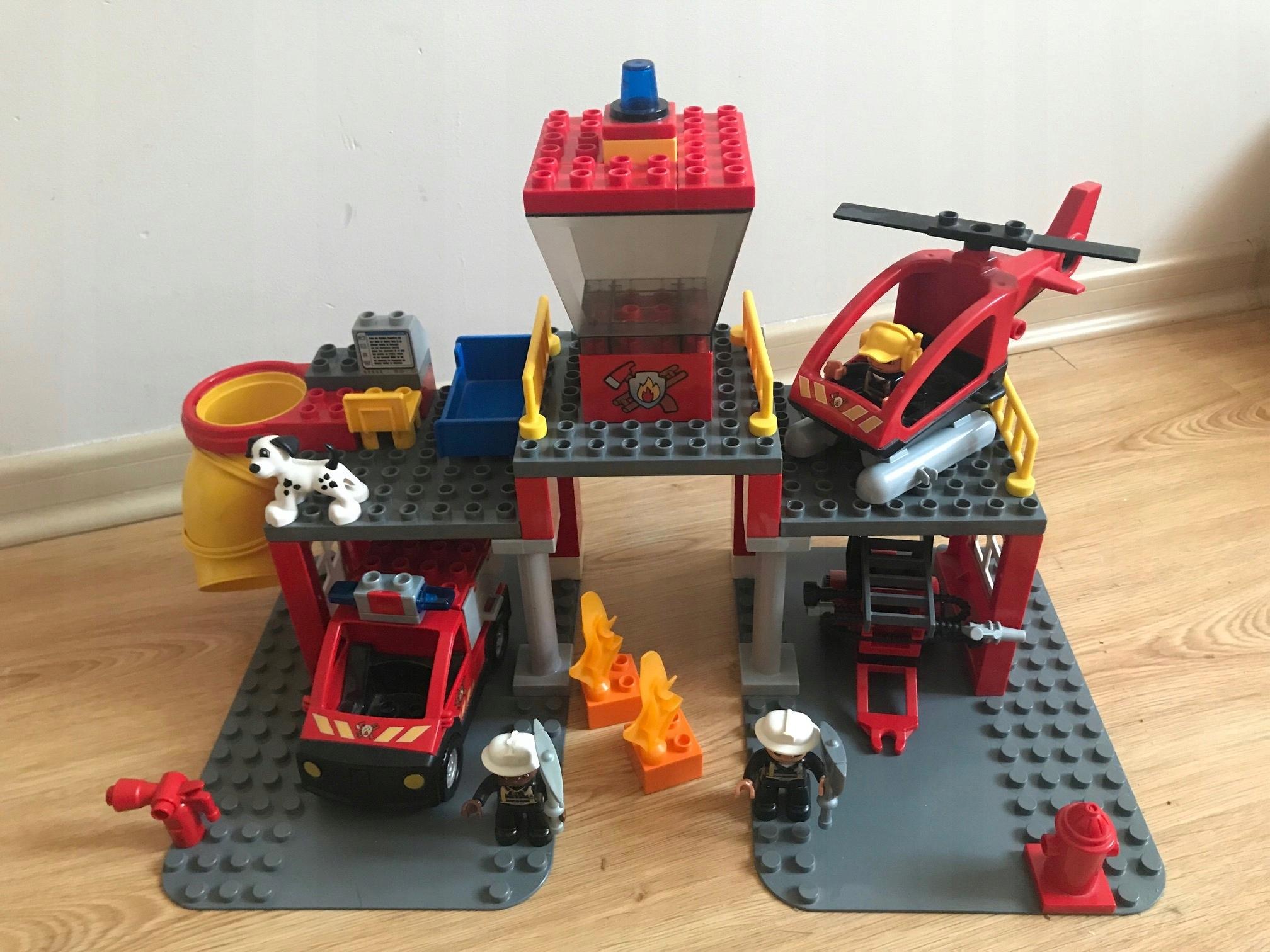 Lego 5601 Duplo Remiza Strażacka Straż Pożarna 7507724967