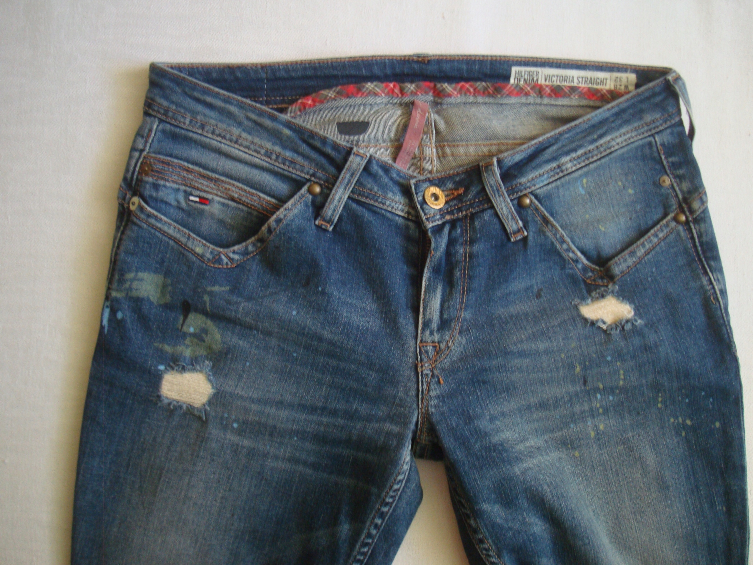 c629f05d1f595 Tommy Hilfiger jeansy damskie rozmiar 28/32 - 7701861707 - oficjalne ...
