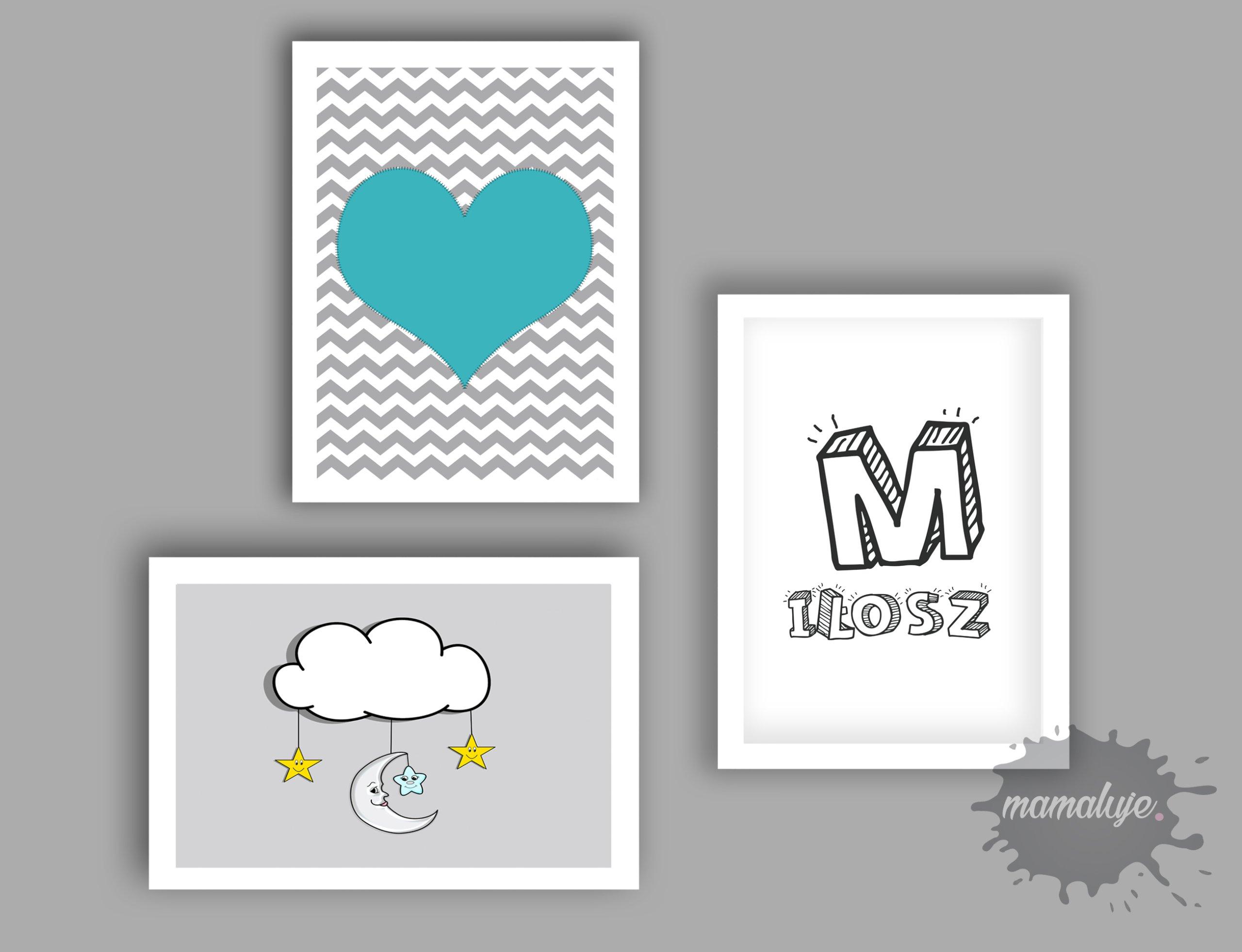 Plakaty Do Pokoju Dziecka 30x45 Cm Do Wydruku 7137806230