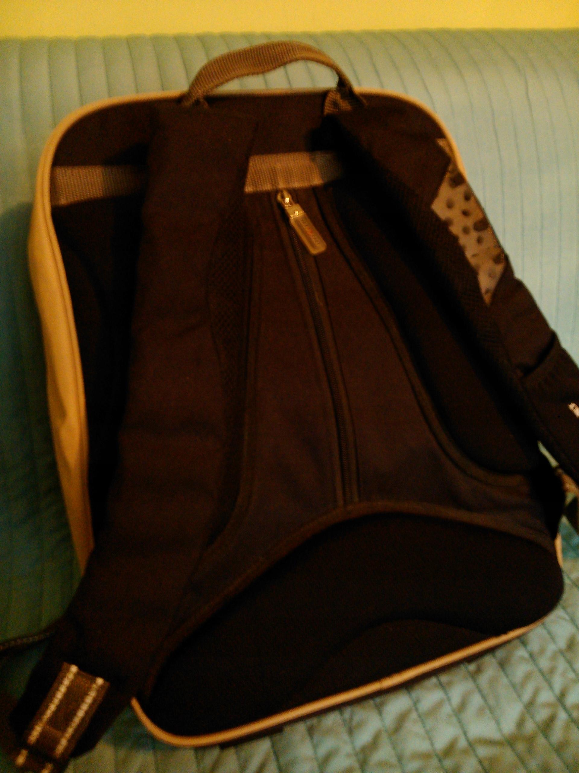 1fda6830af81b Piękny plecak szkolny TAKE IT EASY dużo kieszeni - 7453202503 ...