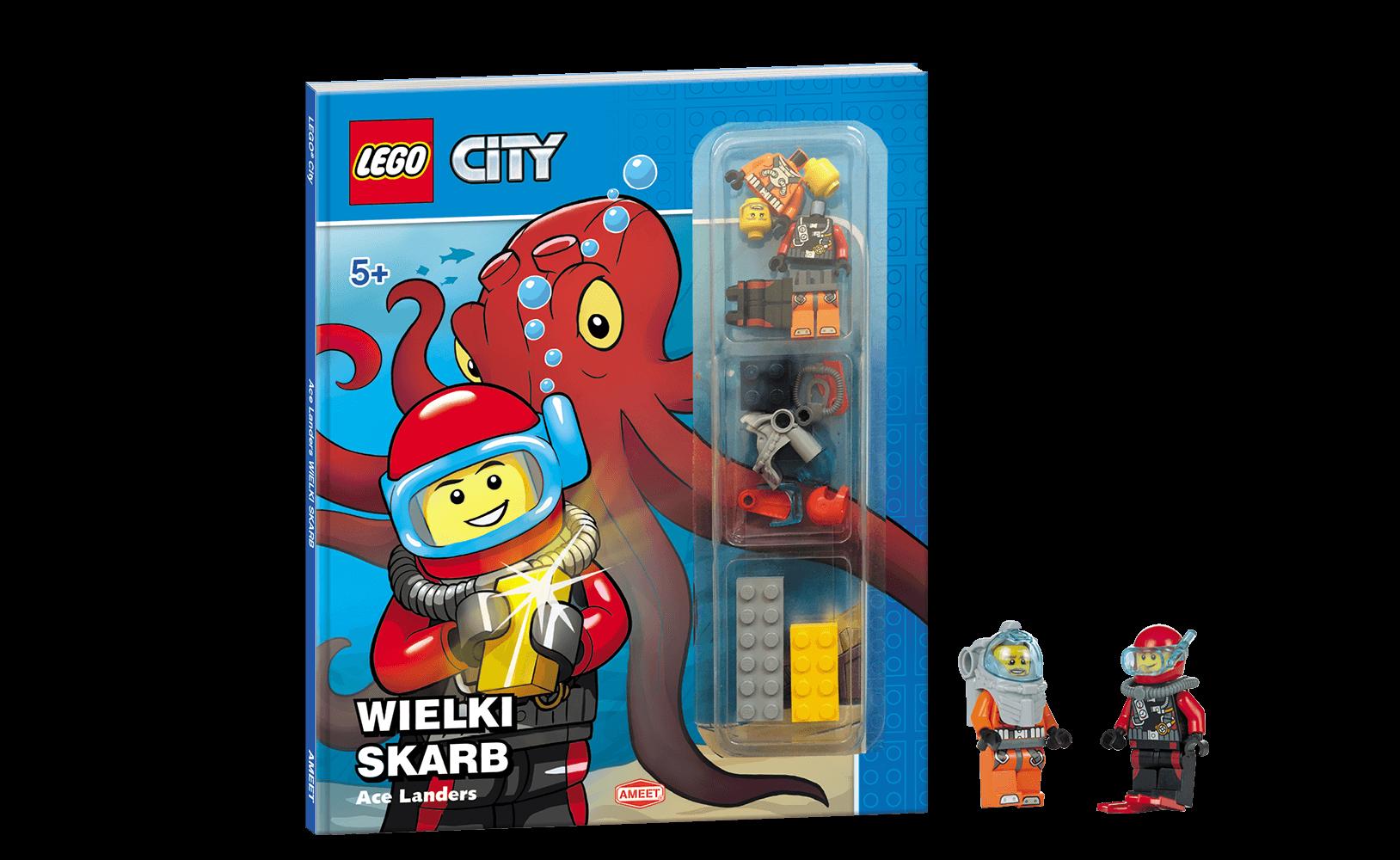 Lego City Wielki Skarb Opracowanie Zbiorowe 6968519017