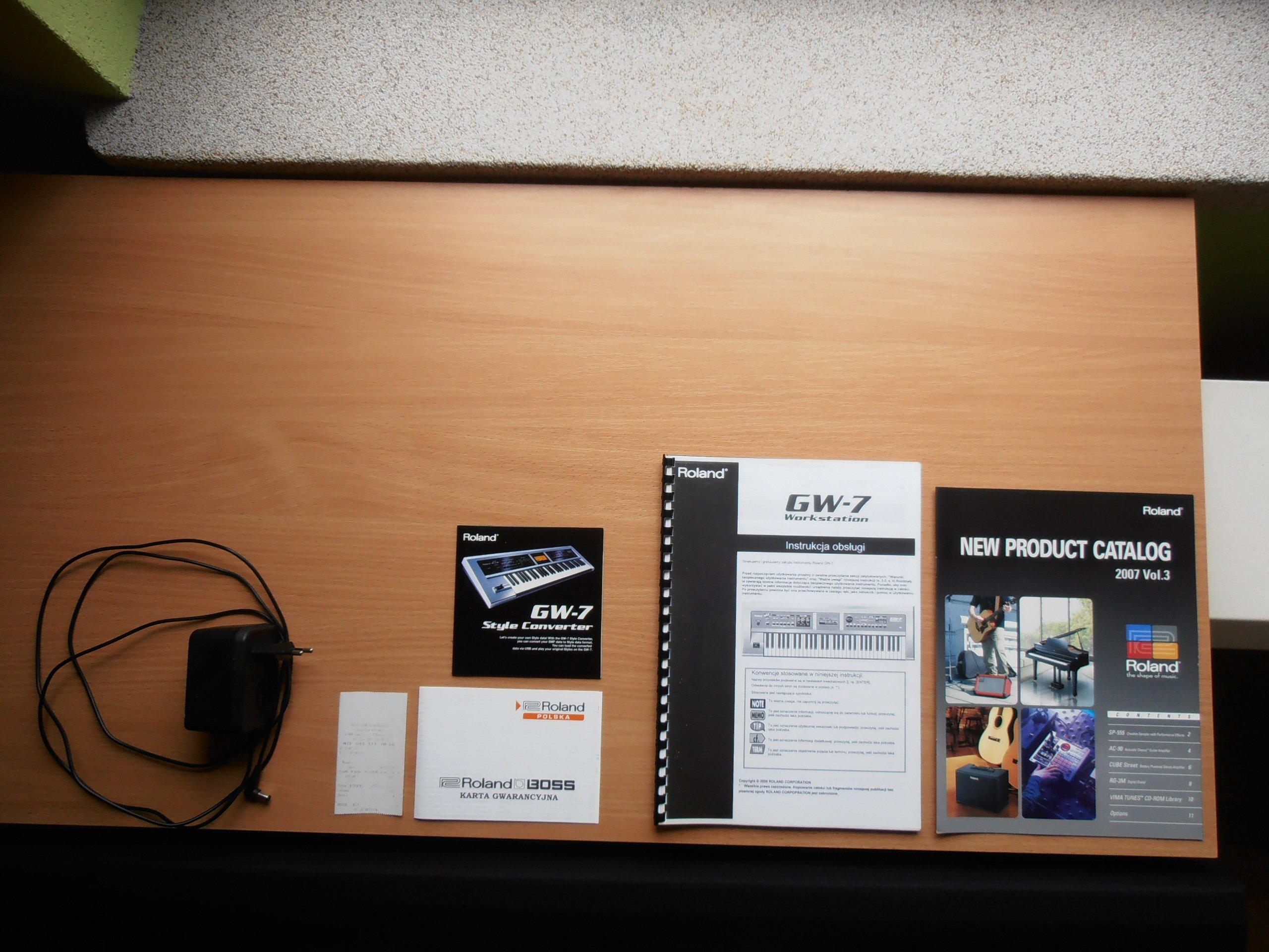 Roland GW-7 Workstation, jak nowy + dodatki OKAZJA - 7183455739
