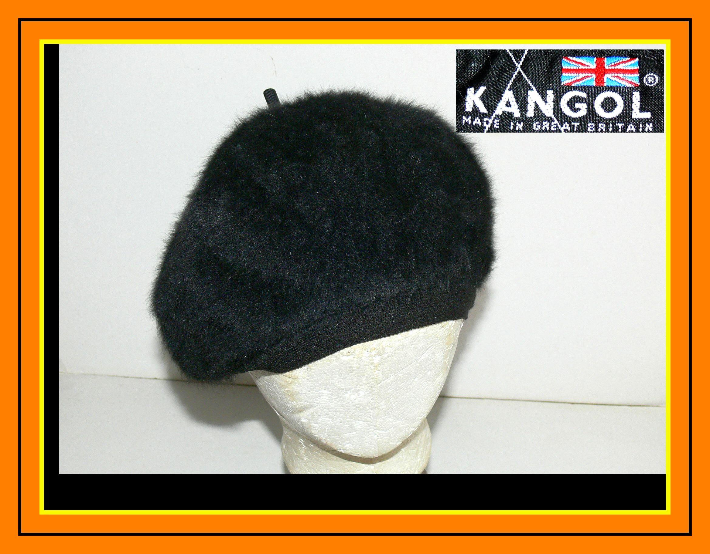beret =KANGOL Furgora Janie = OS WEŁNA + IDEAŁ