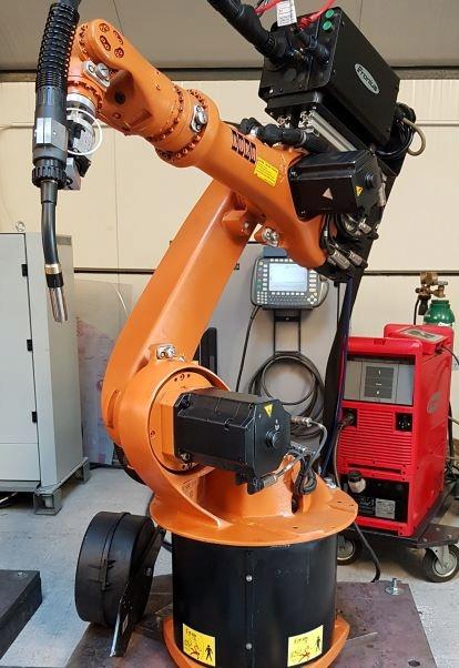 Bardzo dobra ROBOT SPAWALNICZY - KUKA KR6 - FRONIUS - OKAZJA - 7652463332 LS28
