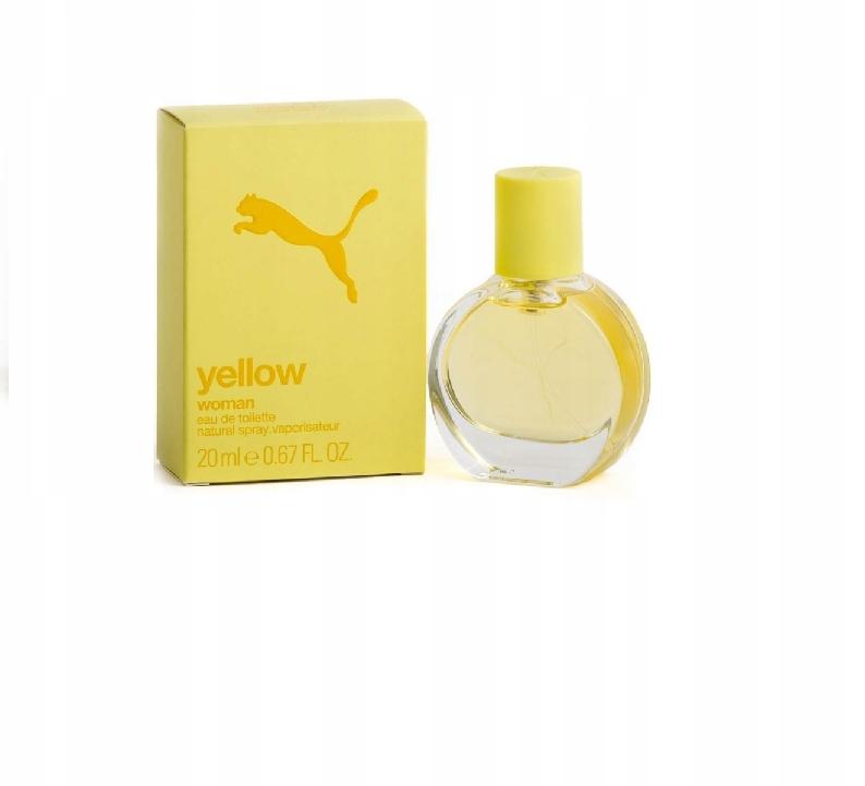 lepszy dobrze znany popularna marka Puma Yellow Woman Woda toaletowa 20ml - 7691775583 ...