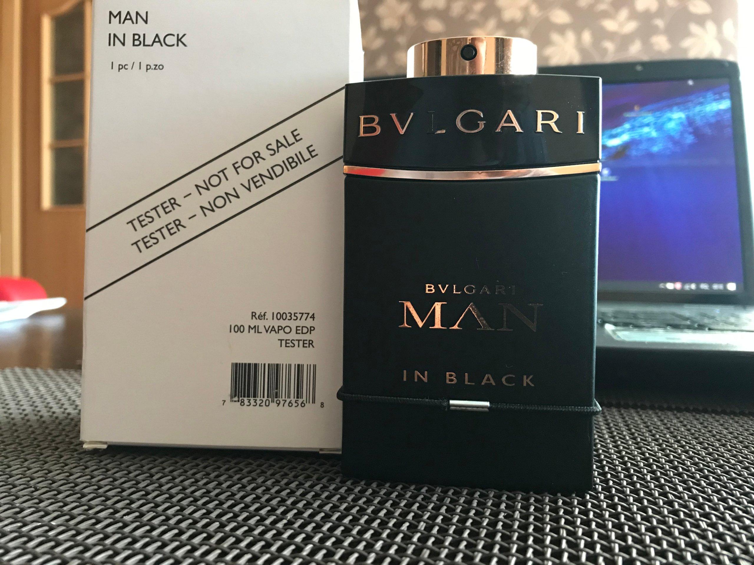 Bvlgari Man In Black 7292477209 Oficjalne Archiwum Allegro Edp 100ml