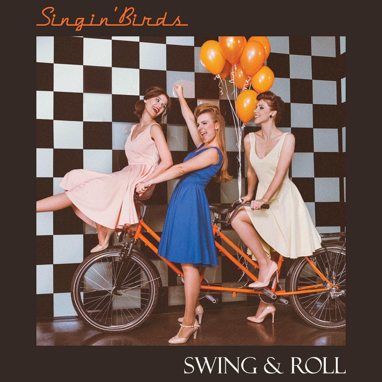 Singin' Birds - Swing & Roll, CD, digipack