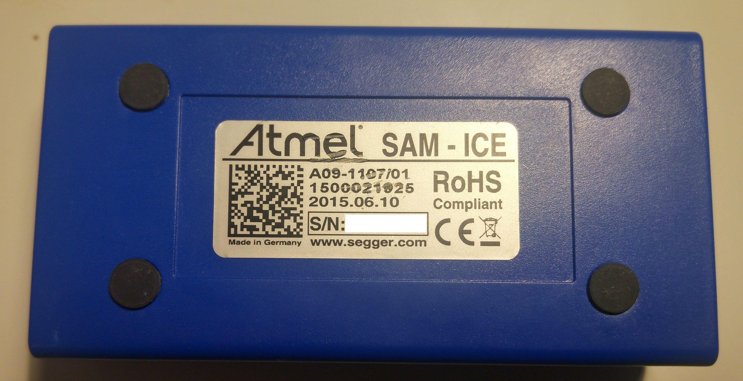 Debuger JTAG Emulator Segger Atmel SAM ICE FVAT23
