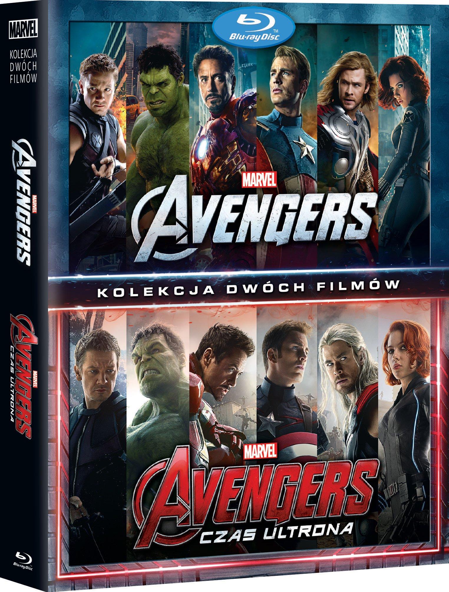Pakiet Avengers BLU-RAY