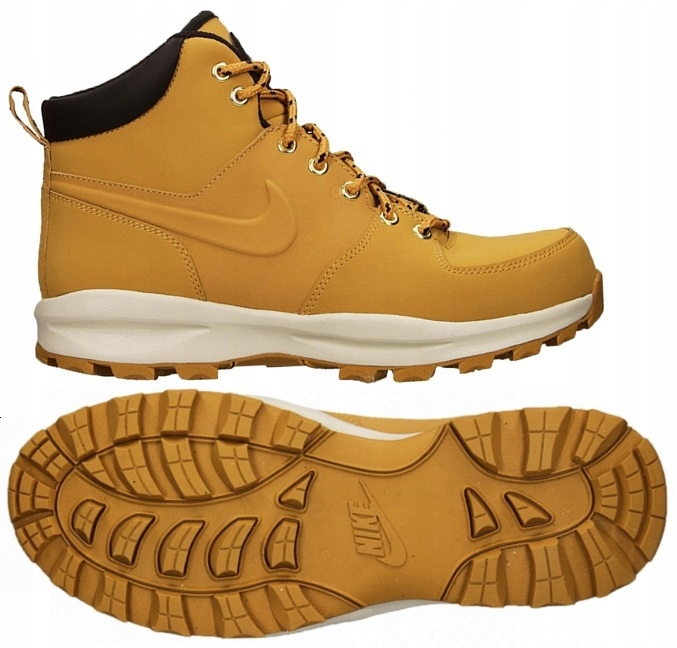 aa313a8e Buty NIKE MANOA Leather 454350-700 - 43 - 7550051608 - oficjalne ...