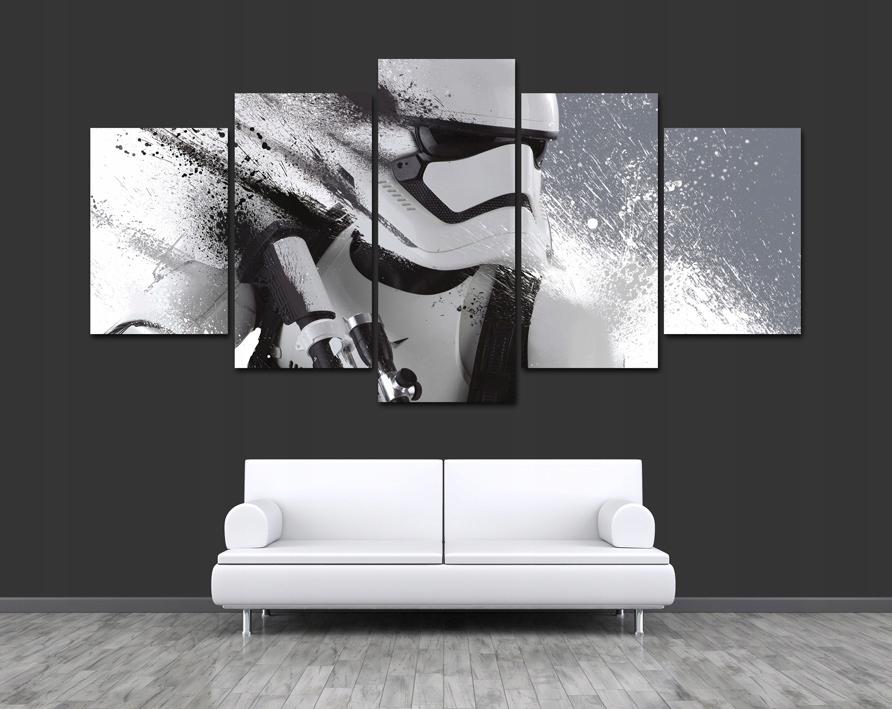 5 Obraz Star Wars The Force Awakens Storm Trooper 7358053085