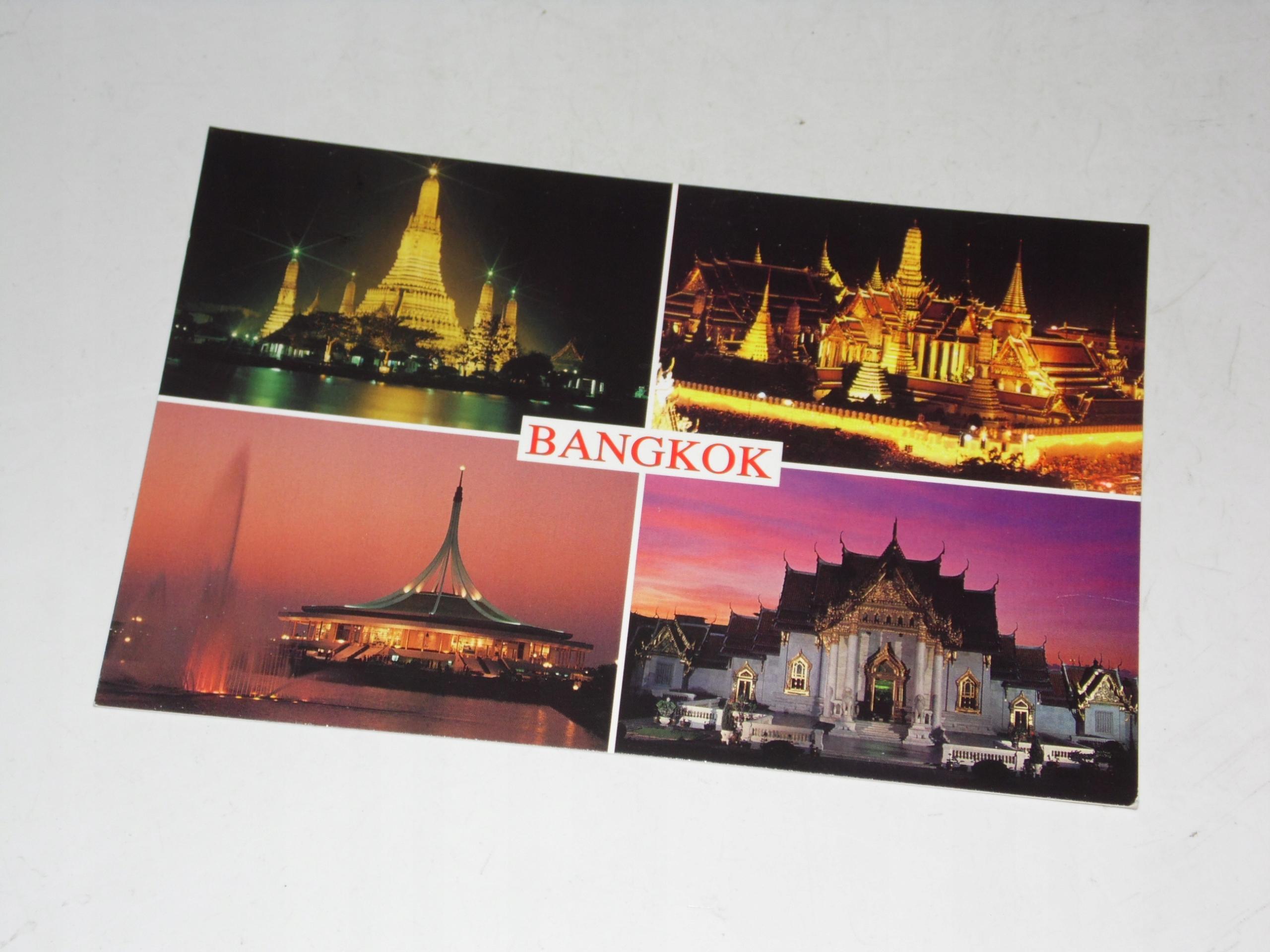 Pocztówka Bangkok