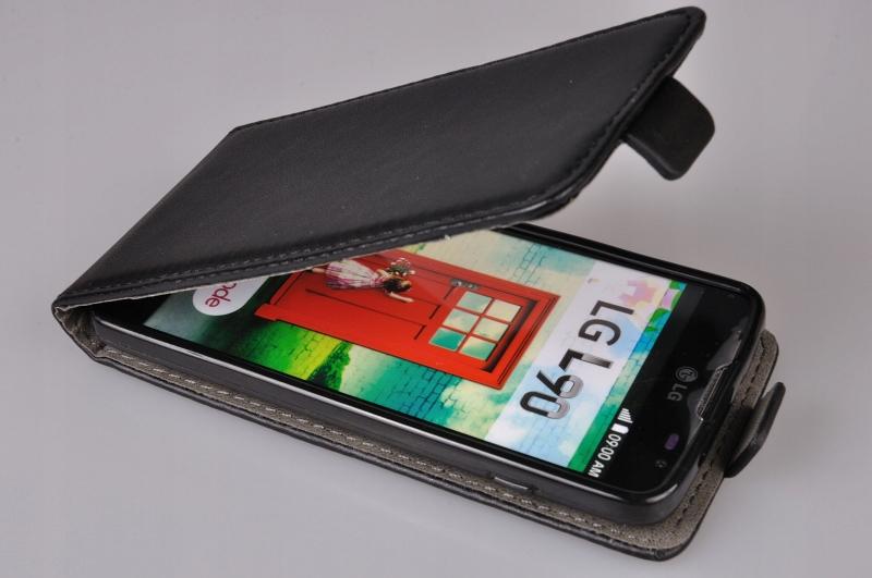 LG L90 (D405N) czarny, jak nowy, kompletny + etui