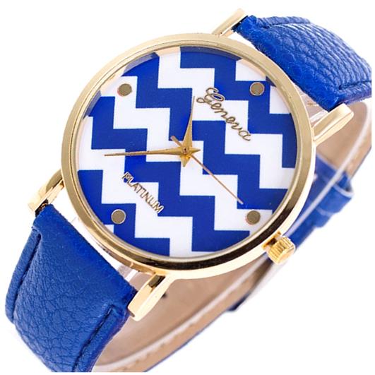 Zegarek Retro Aztecki wzór Skóra Damski Kolor