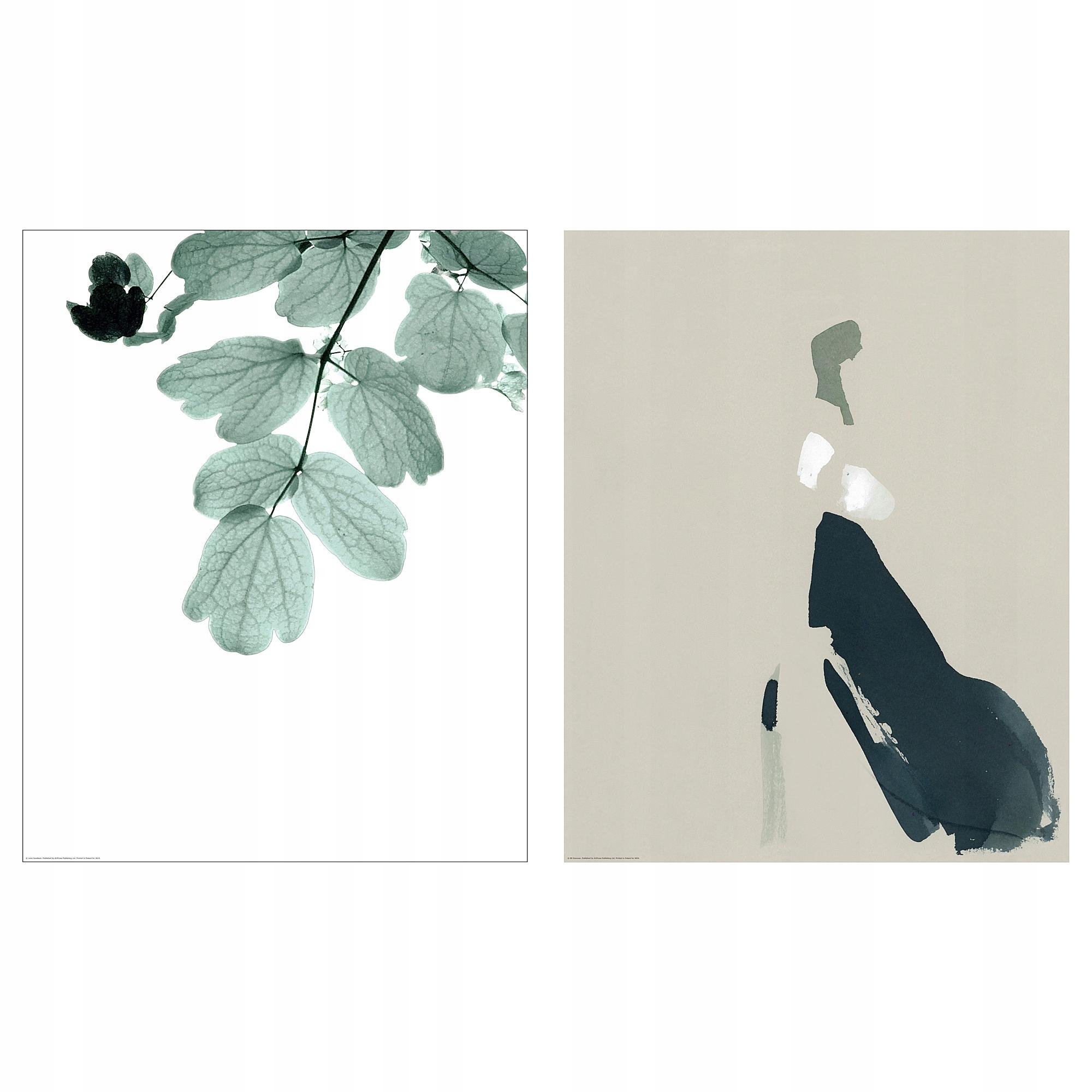 Ikea Bild Plakat Impresje 2szt 40x50 7527874998