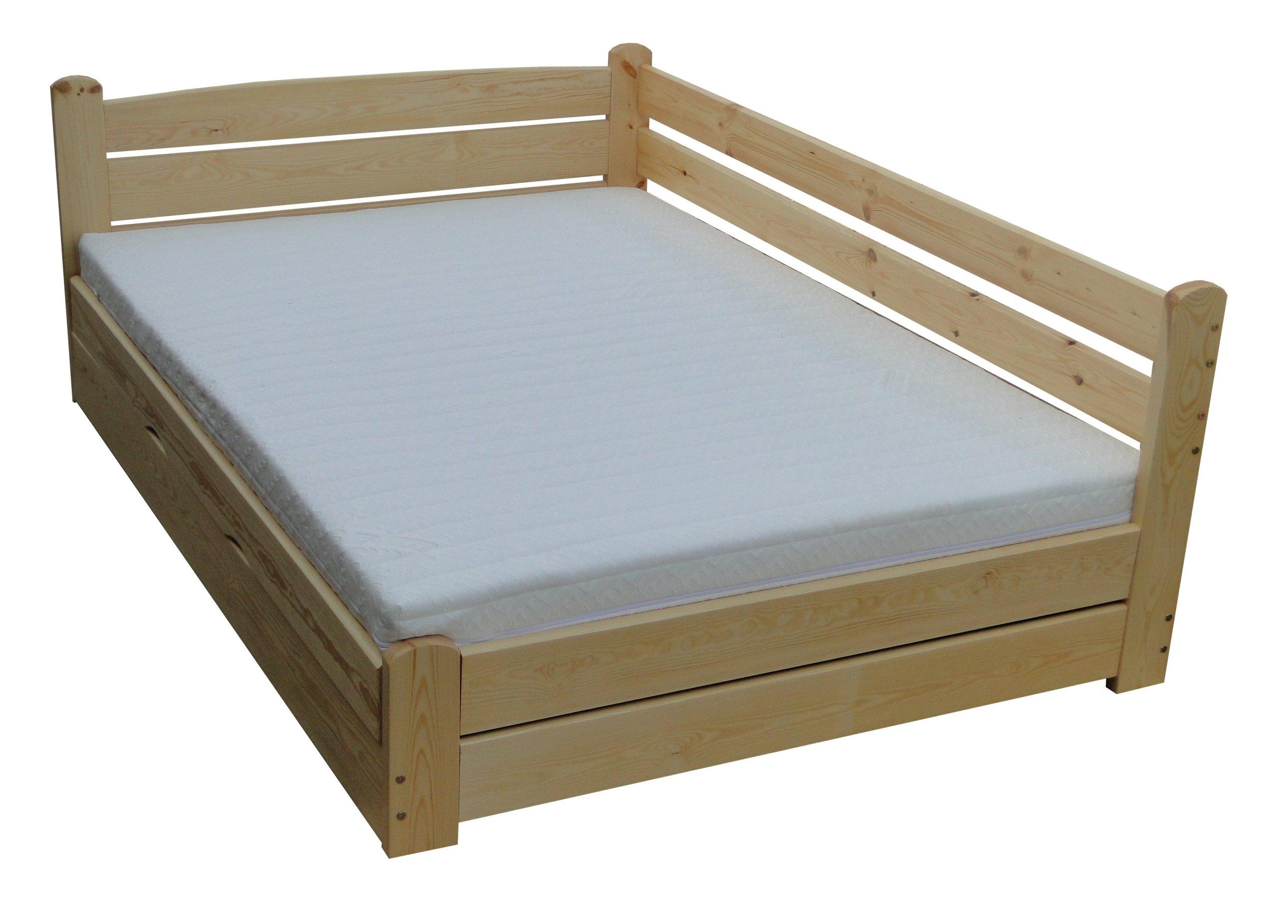 Forteca 120x200 łóżko Z Pojemnikiem Mega Mocne 7738344445