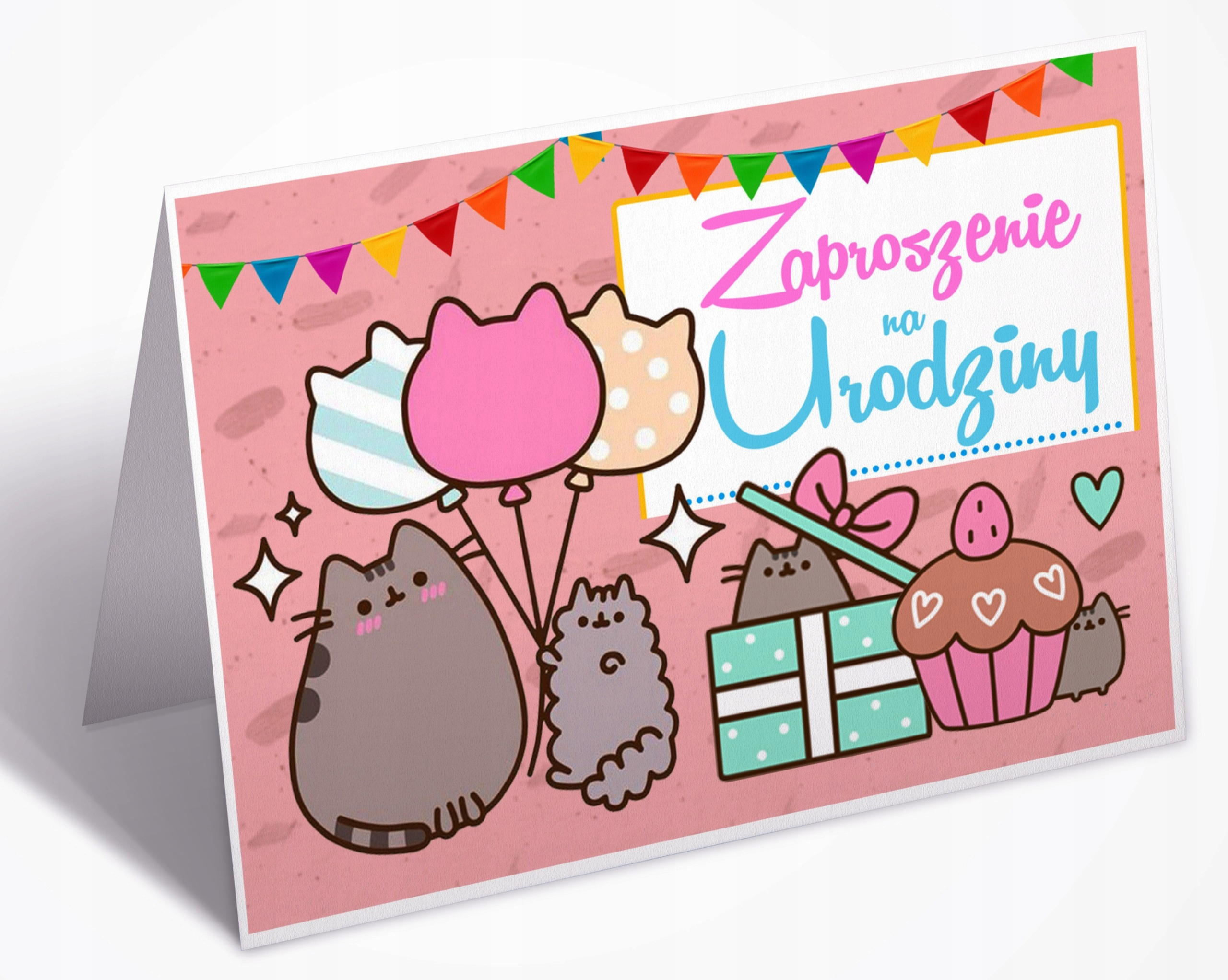 Zaproszenia Zaproszenie Na Urodziny Dla Dzieci 7430672365