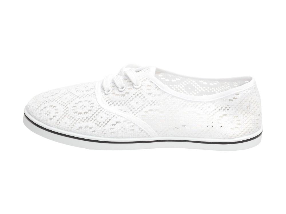 Białe przewiewne baleriny damskie VINCEZA 7950 r39