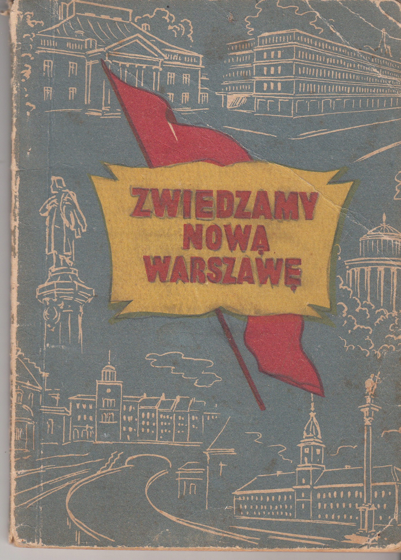 Zwiedzamy nowa Warszawę 1950r.