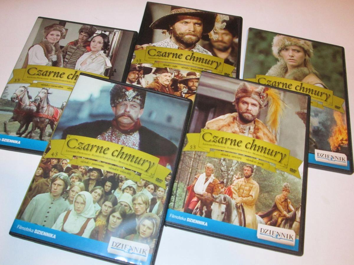 CZARNE CHMURY REŻ. A.KONIC SERIAL 10 ODC. 5 DVD
