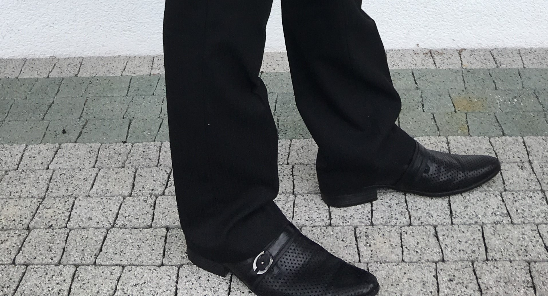 ede1d7eef1e18 Czarne garniturowe buty 41 dziurki j nowe - 7342689948 - oficjalne ...