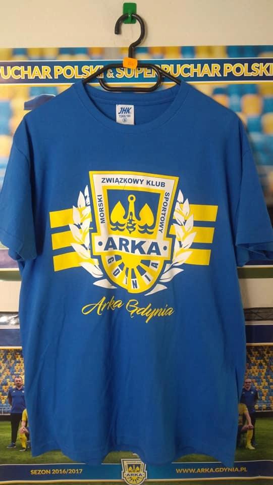 748b653a511 Nowa koszulka Arka Gdynia S ,M,L, XL, XXL - 7580691583 - oficjalne ...