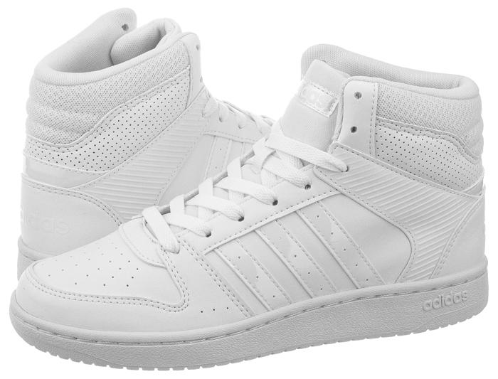 fb0ff3c3 Buty Damskie adidas VS Hoopster Mid W B74434 Białe - 6972345686 ...