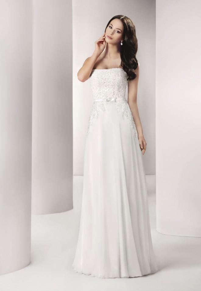 bcd7684ec9 Suknia ślubna z salonu Agnes Gdynia - 7249182542 - oficjalne ...
