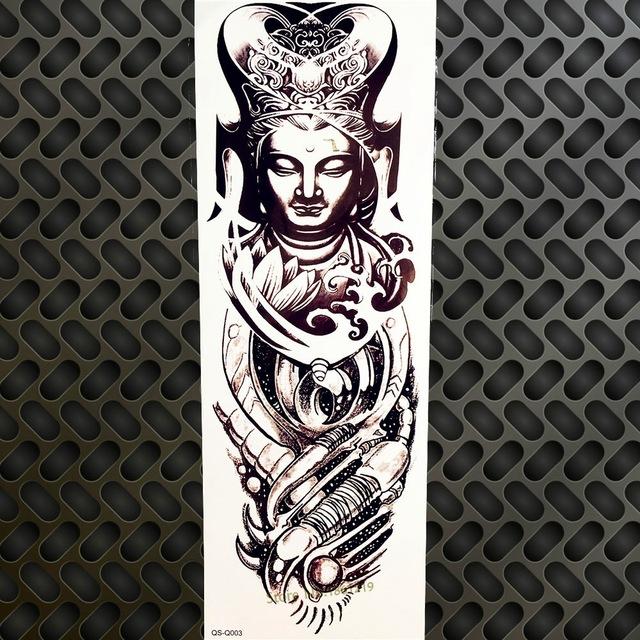 Tatuaż Zmywalny Rękaw Budda Biomechanika 7338938605