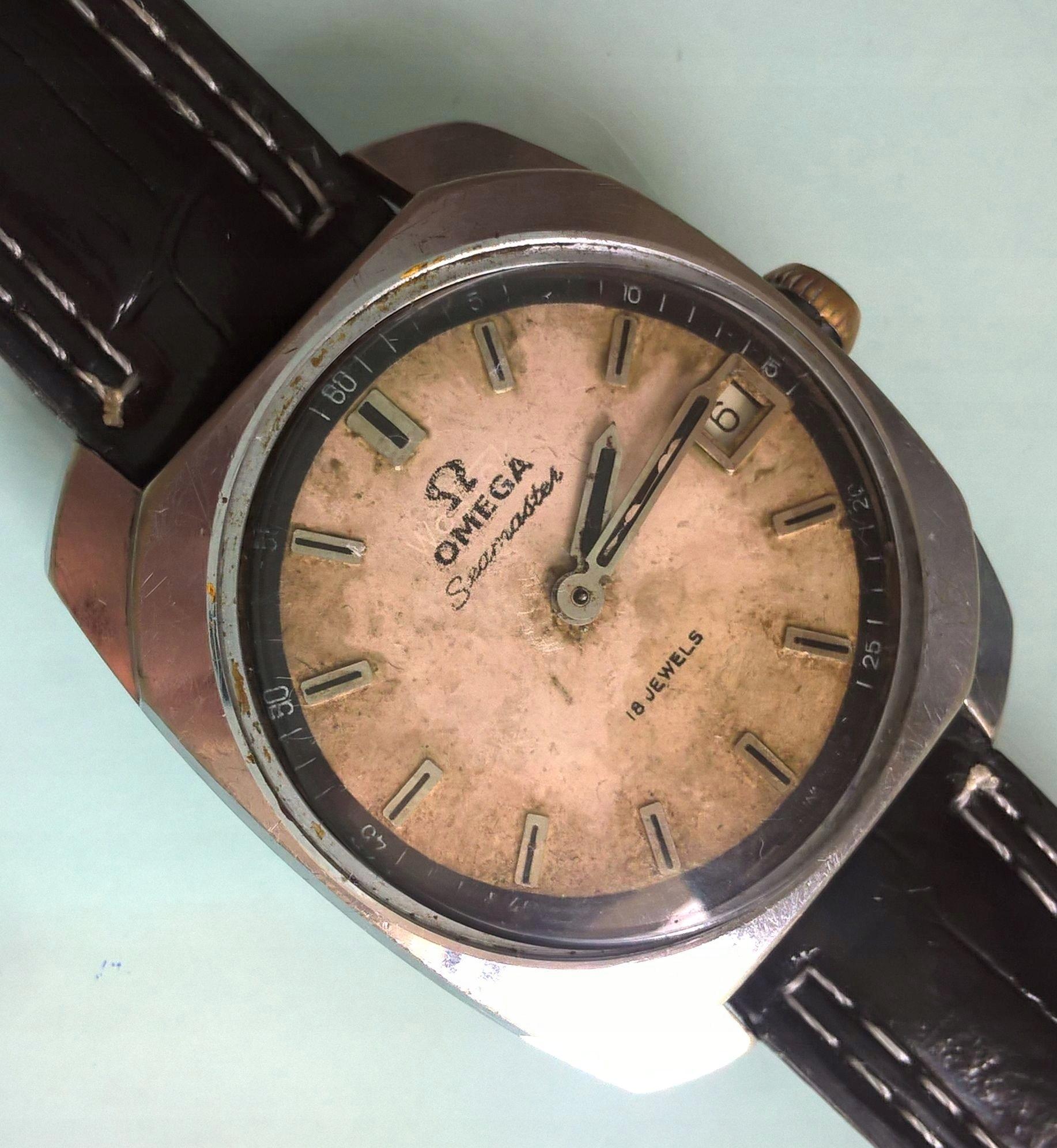 38fe068fd52 Zegarek Omega Seamaster
