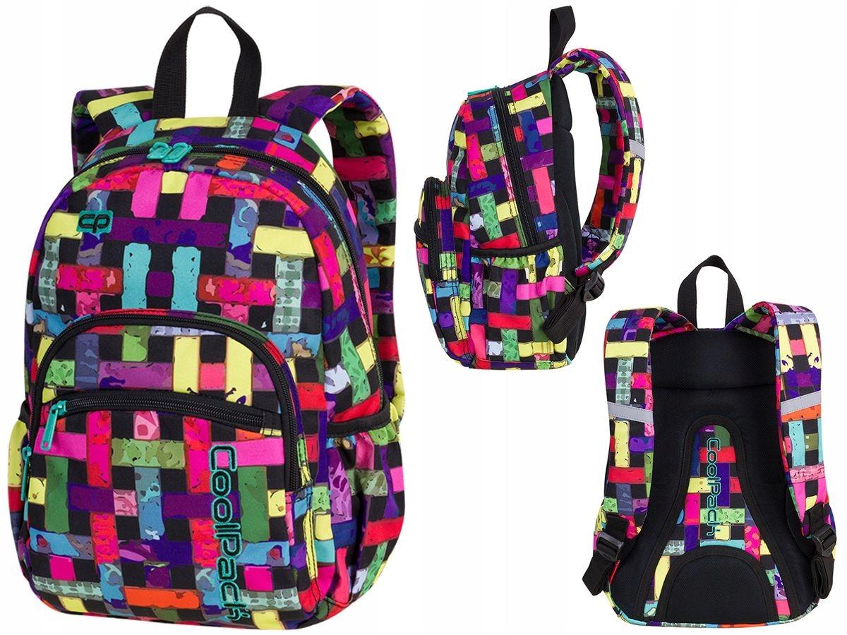 d968d6fc9e3eb Plecak dziecięcy Coolpack Mini Ribbon Grid 87926CP - 7709899620 ...