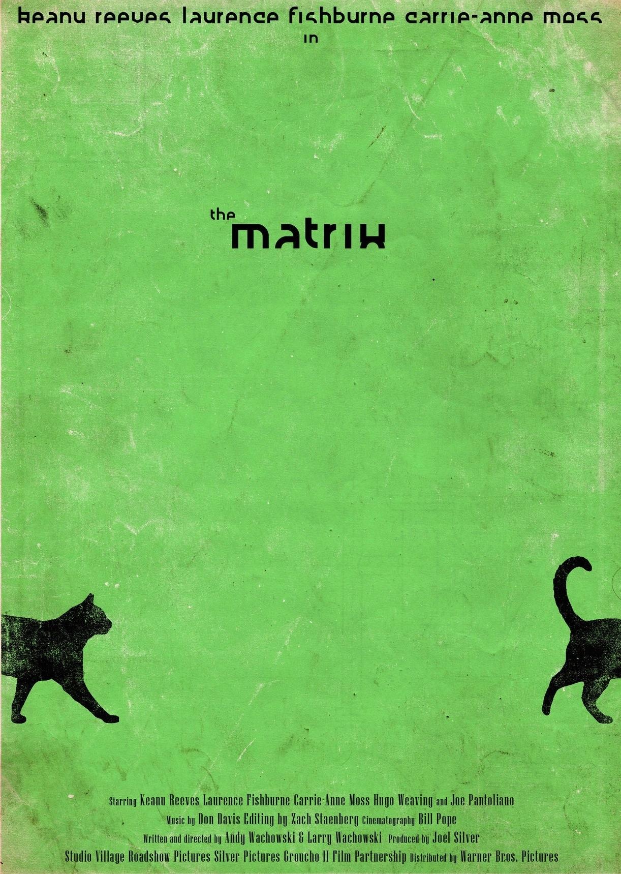 Matrix Plakat Na Zamówienie Unikat