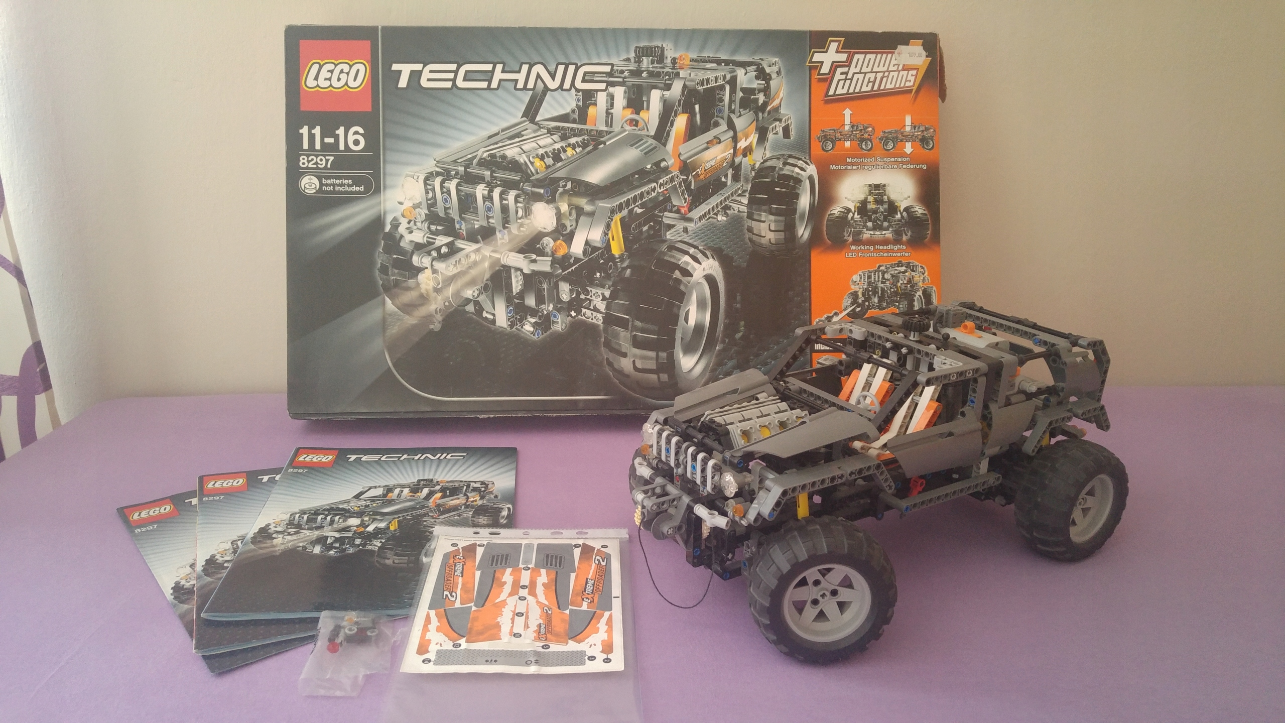 Lego Technic 8297 Off Roader Power Functions 7704552688