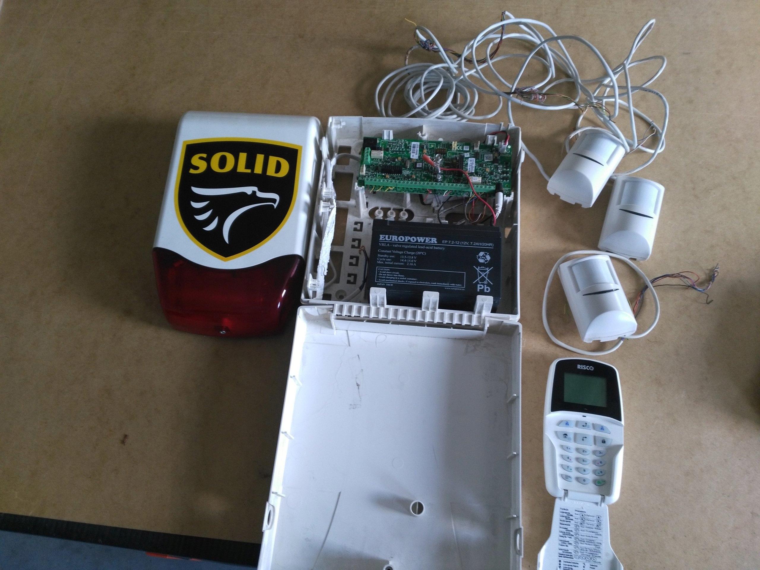 Rewelacyjny System alarmowy Risco GTX ONE BOSCH ISC-BDL2-W12G - 7432345889 NQ83